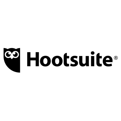The speaker works for Hootsuite