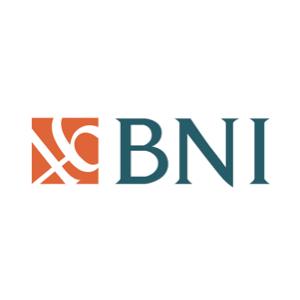 The speaker works for Bank Negara Indonesia