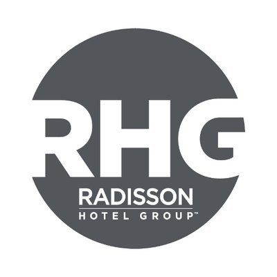 The speaker works for Radisson Hotel Group
