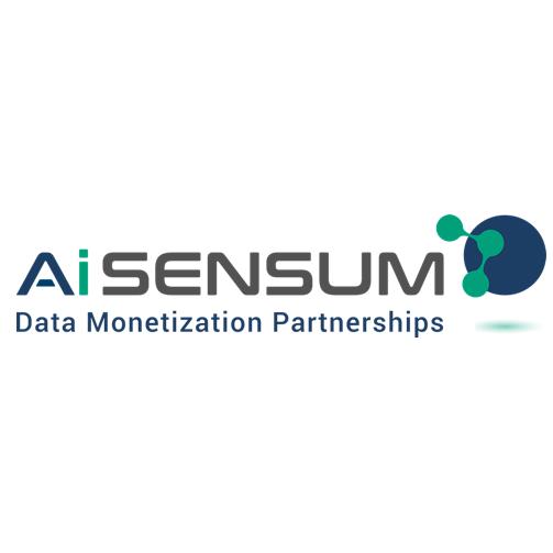 The speaker works for AiSensum