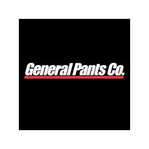 The speaker works for General Pants Co.