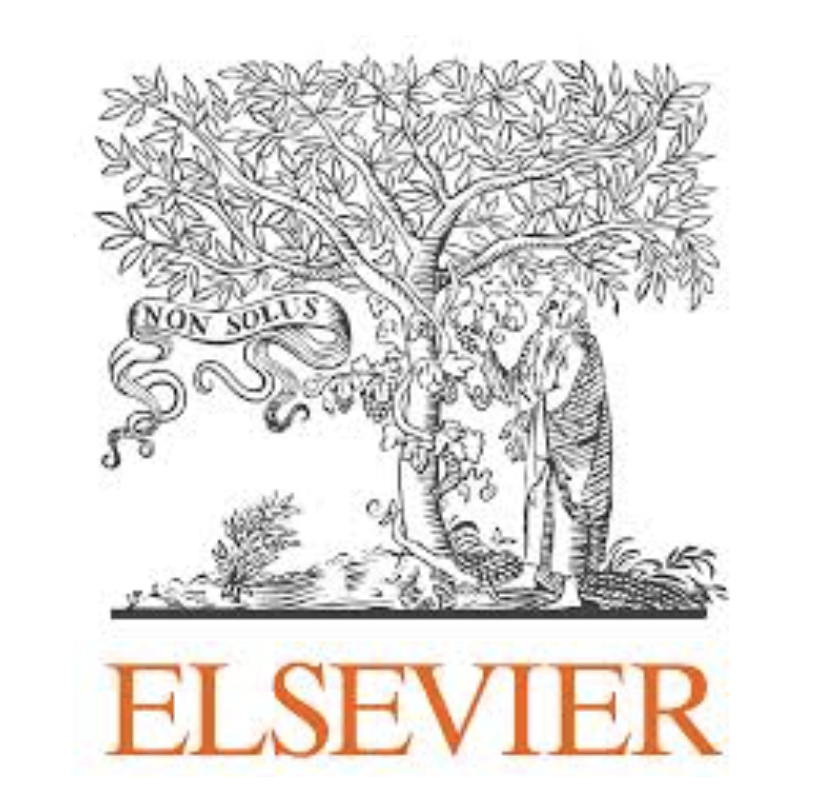 The speaker works for Elsevier